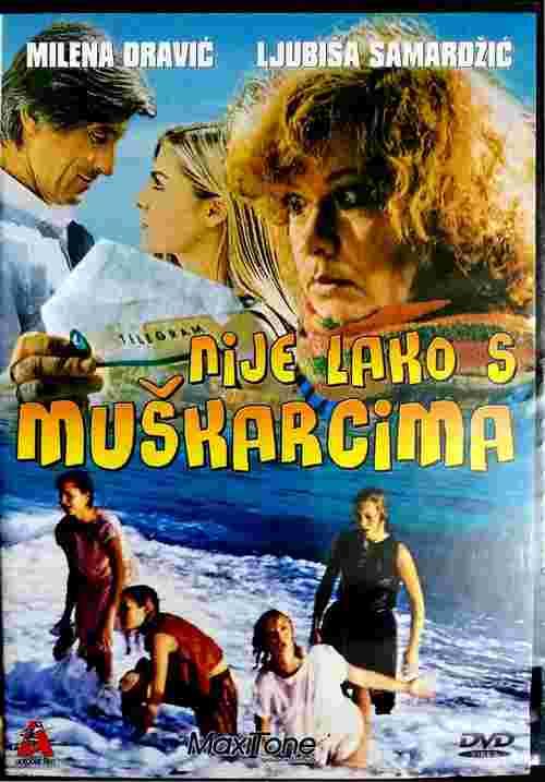 DVD NIJE LAKO SA MUSKARCIMA MILENA DRAVIC LJUBISA SAMARDZIC MIHAJLO VUKOBRATOVIC