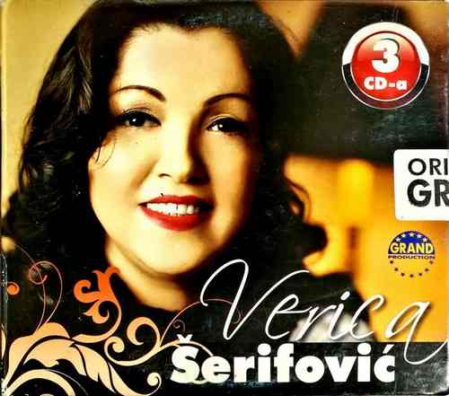 3CD Verica Serifovic Nove Romanse Ciganske Grand production