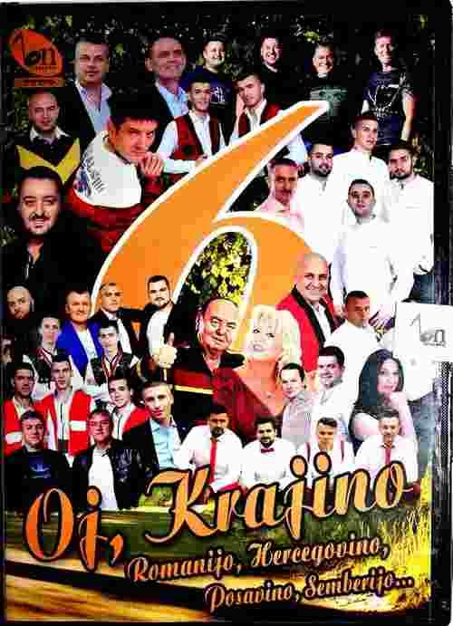 CD OJ KRAJINO 6 ROMANIO HERCEGOVINO POSAVINO SEMBERIJA KRAJISKA NARODNA BN MUSIC