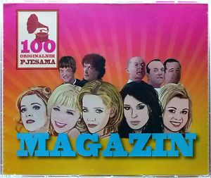 5CD MAGAZIN  100 ORIGINALNIH PJESAMA compilation 2013 croatia records pop dance