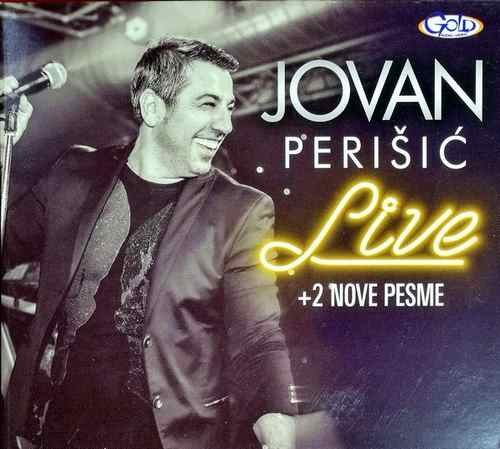 CD JOVAN PERISIC LIVE + 2 NOVE PESME ALBUM 2018 GRAND PRODUCTION