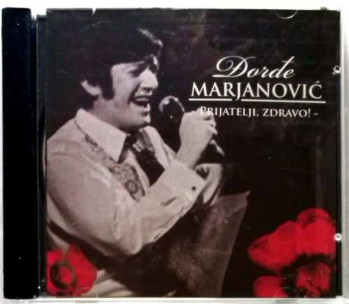CD DJORDJE MARJANOVIC THE BEST OF remastered 2008 Serbia, Bosnian, Croatian