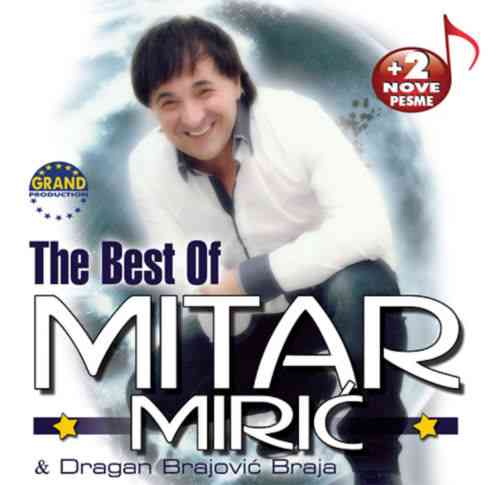 CD MITAR MIRIC  THE BEST OF album 2013 Serbian, Bosnian, Croatian, Serbia