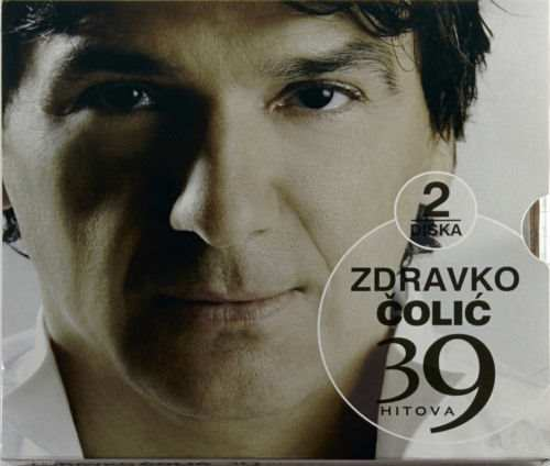 2CD ZDRAVKO COLIC 39 HITOVA compilation 2008 PGP RTRS Serbia Bosnia Croatia pop