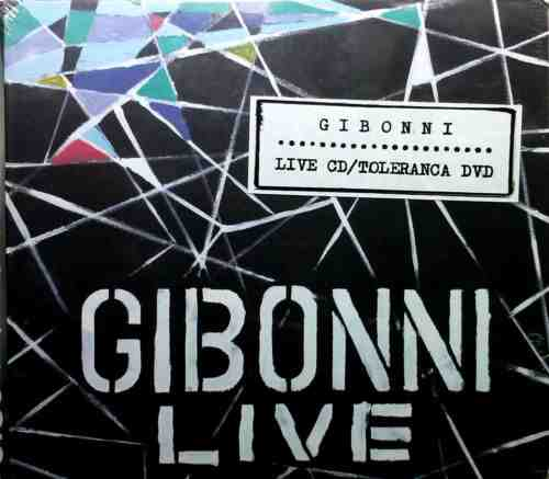 CD+DVD GIBONNI  LIVE CD  TOLERANCA DVD 2013 Pop Croatia, Serbia, Bosnia Dallas