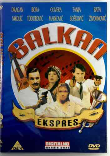 DVD BALKAN EKSPRES film Branko Baletic The Balkan Express Bata Zivojinovic movie
