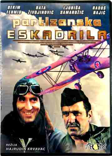 DVD PARTIZANSKA ESKADRILA Battle of the Eagles a.k.a. The Partizan`s Squadron