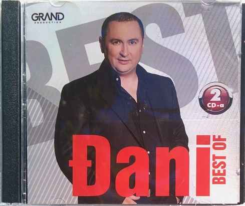 2CD DJANI BEST OF NAJBOLJE OD compilation 2016 Grand production novo new srbija
