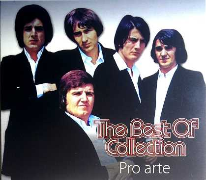 CD PRO ARTE THE BEST OF COLLECTION compilation 2015 sansone zabavna hrvatska