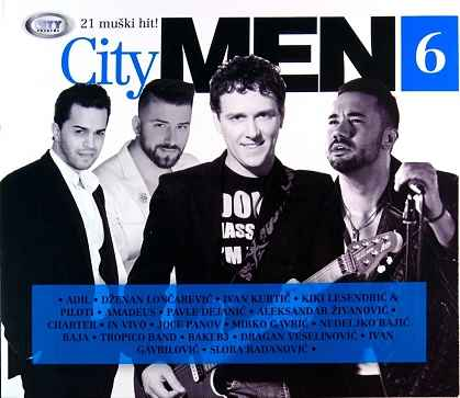 CD CITY MEN 6 compilation 2016 charter leo charter veselinovic loncarevic adil