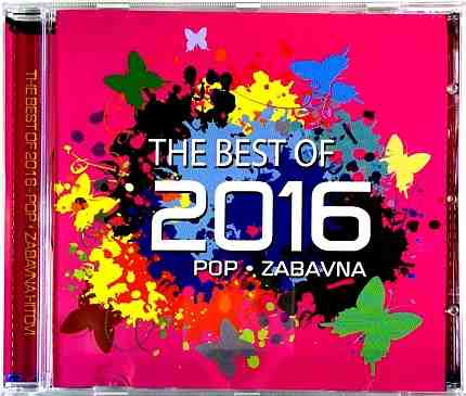 CD THE BEST OF 2016 POP ZABAVNA compilation 2016 graso zecic vranac lege klapa
