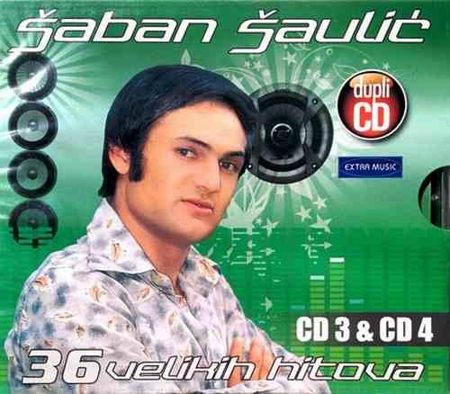 2CD SABAN SAULIC 36 VELIKIH HITOVA 2 kompilacija 2015 folk muzika saban saulic