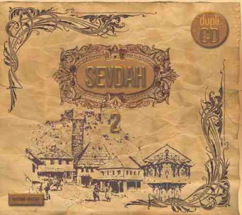 2CD SEVDAH 2  COMPILATION 2010 Album
