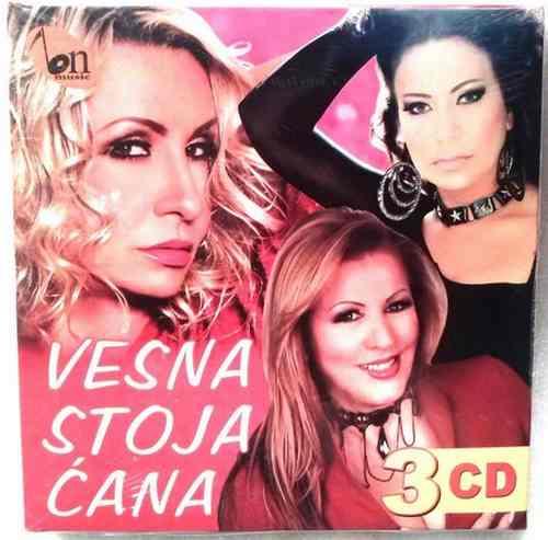 3CD BN MUSIC KOKTEL VESNA STOJA CANA Box Set, Folk 2014 narodna muzika
