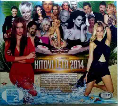 2CD CITY RECORDS PRESENTS  HITOVI LETA 2014 Serbia, Bosnia, Croatia Pop Rock
