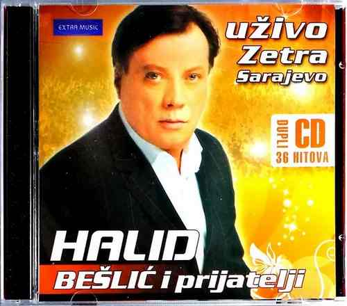 2CD HALID BESLIC I PRIJATELJI 2009 UZIVO ZETRA SARAJEVO NARODNA EXTRA MUSIC