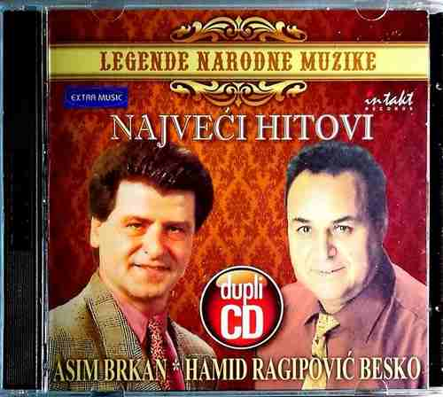 2CD ASIM BRKAN I HAMID RAGIPOVIC BESKO LEGENDE NARODNE MUZIKE COMPILATION 2011