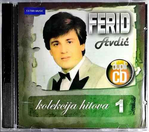 2CD FERID AVDIC KOLEKCIJA HITOVA 1 COMPILATION 2012 EXTRA MUSIC NARODNA MUZIKA