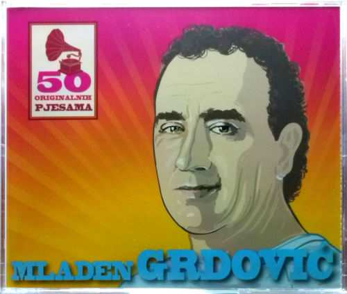 3CD MLADEN GRDOVIC  50 ORIGINALNIH PJESAMA compilation 2014 croatia records pop