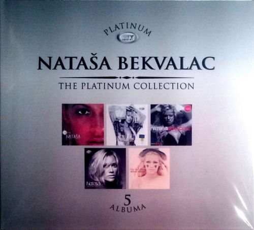 5CD NATASA BEKVALAC  PLATINUM COLLECTION 2013 serbia bosnia croatia city records