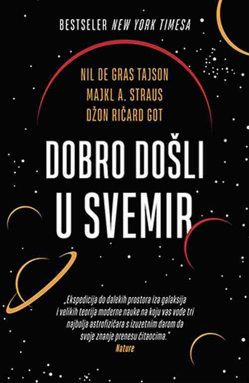 Dobro dosli u svemir Nil de G. Tajson M. A. Straus Dz. Ricard Got knjiga 2019