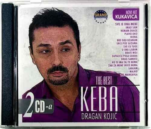2CD DRAGAN KOJIC KEBA THE BEST OF compilation 2008 Grand production folk balkan