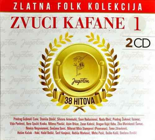 2CD ZVUCI KAFANE 1 KOMPILACIJA 2018 ZLATNA FOLK KOLEKCIJA GOLD AUDIO VIDEO