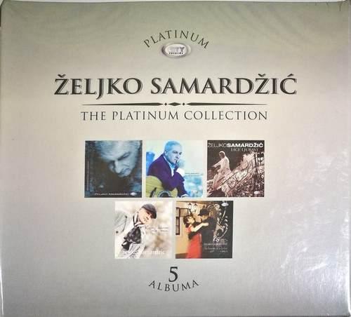 5CD ZELJKO SAMARDZIC PLATINUM COLLECTION 2012 kojim dobrom mila moja lice ljubav