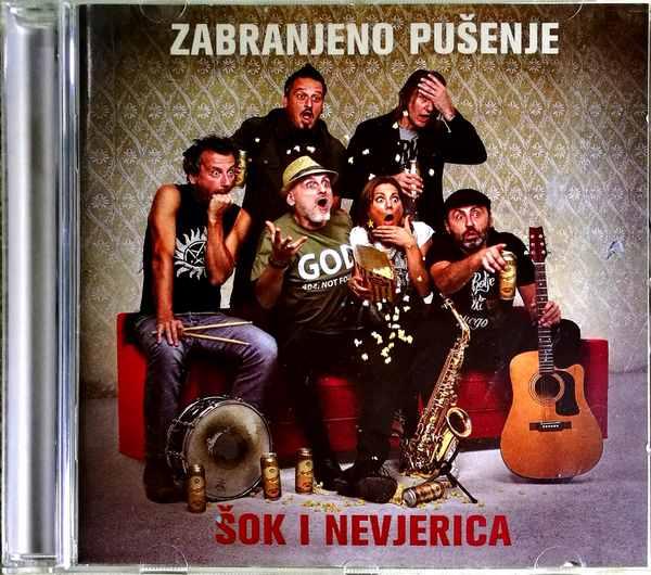 CD ZABRANJENO PUSENJE SOK I NEVJERICA ALBUM 2018