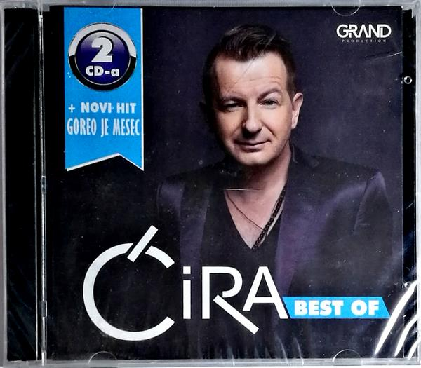 2CD CIRA BEST OF 2016 + NOVA PESMA GOREO JE MESEC