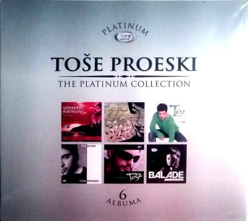 6CD TOSE PROESKI THE PLATINUM COLLECTION 2012 serbia croatia city records