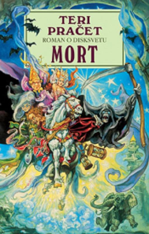 Mort Teri Pracet knjiga 2019 komicna fantastika roman o disksvetu