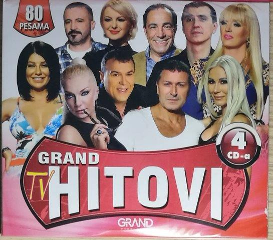 4CD GRAND TV HITOVI GRAND KOMPILACIJA 2018