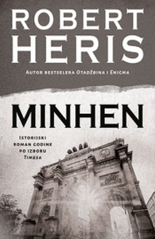 Minhen Robert Heris knjiga 2019 istorijski triler