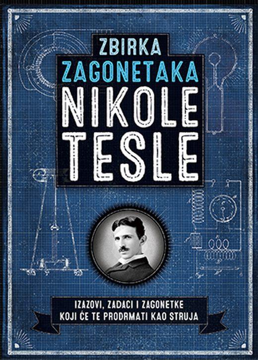 Zbirka zagonetaka Nikole Tesle  Ricard Galand  knjiga 2020 Knjige za decu