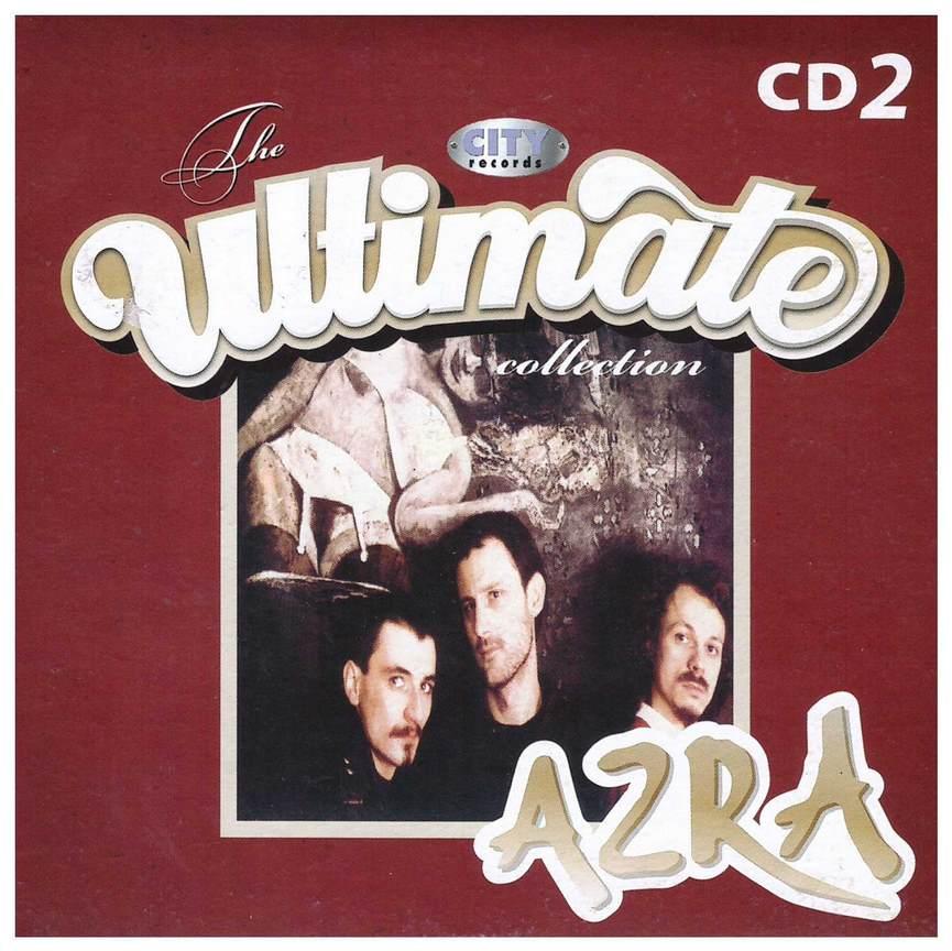 CD AZRA ULTIMATE COLLECTION 2 2009 JOHNY STULIC digipak