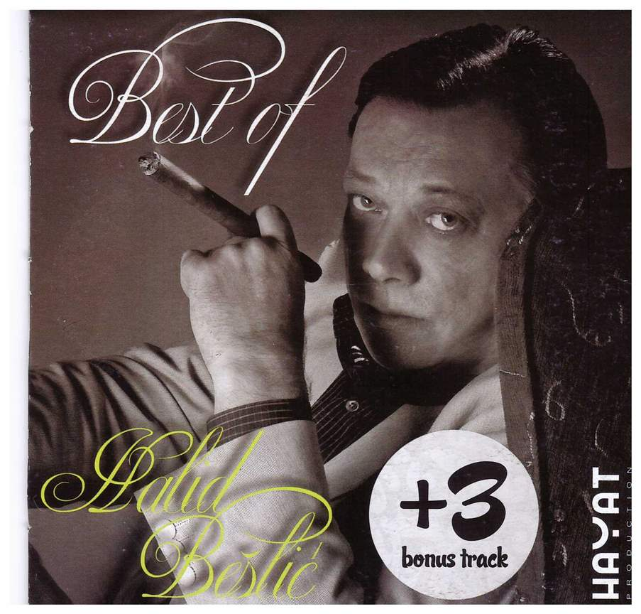 CD HALID BESLIC BEST OF + 3 BONUS TRACK KOMPILACIJA 2010