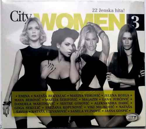 CD CITY WOMEN 3  compilation 2014 City Records SERBIEN BOSNIEN KROATIEN