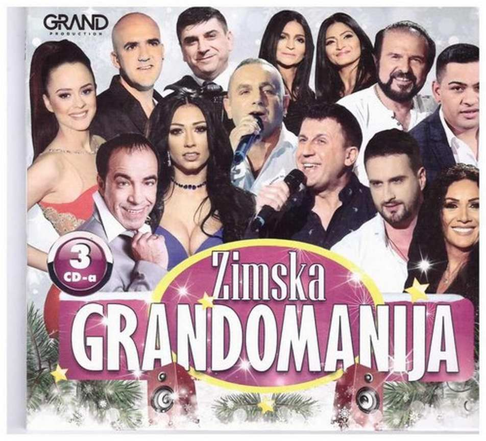 3CD ZIMSKA GRANDOMANIJA KOMPILACIJA 2019