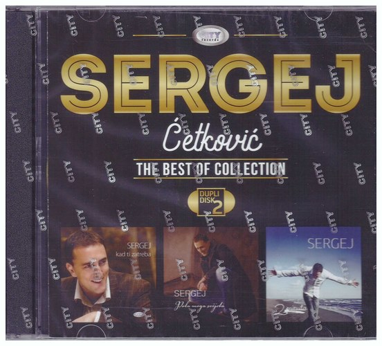 2CD SERGEJ CETKOVIC THE BEST OF COLLECTION KOMPILACIJA 2021