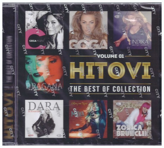 CD HITOVI VOLUME 01 - THE BEST OF COLLECTION KOMPILACIJA 2021