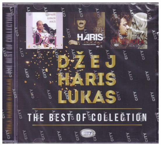 CD DZEJ & HARIS & LUKAS THE BEST OF COLLECTION KOMPILACIJA 2020