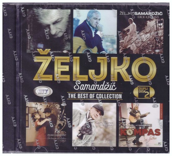 2CD ZELJKO SAMARDZIC - THE BEST OF COLLECTION KOMPILACIJA 2021