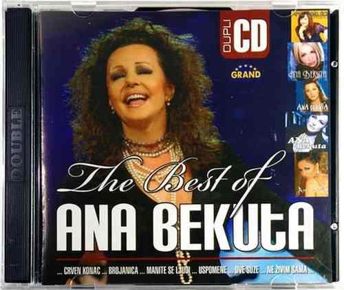 2CD ANA BEKUTA THE BEST OF compilation 2008 Serbia Bosna Croatia narodna muzika