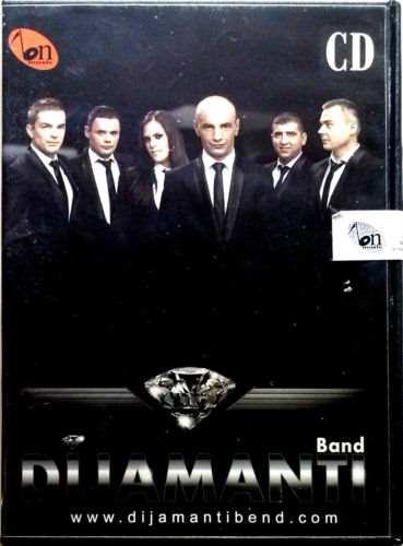CD DIJAMANTI BAND album 2014 BN MUSIC  krajisnici krajiska muzika