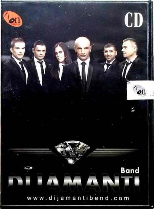 CD DIJAMANTI BAND album 2014 BN MUSIC  krajisnici krajiska muzika