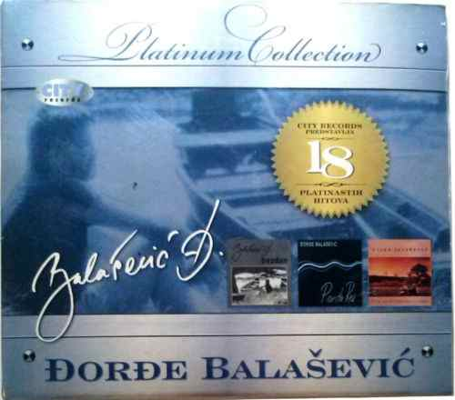 CD DJORDJE BALASEVIC THE PLATINUM COLLECTION 2010 Digipak serbia city records