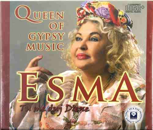 CD ESMA REDZEPOVA TU ME DUJ DZENE QUEEN OF GYPSY MUSIC 2008 romska makedonija