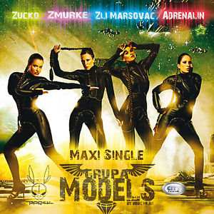 CD GRUPA MODELS  MAXI SINGLE album 2013 City records Serbia, Bosnia Croatia