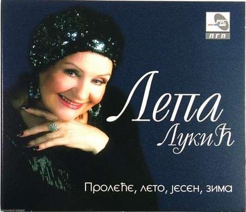 CD LEPA LUKIC PROLECE LETO JESEN ZIMA album 2013 pgp rts srbija balkan narodna